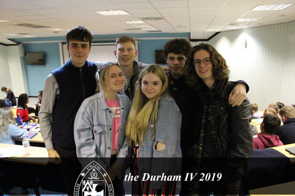 Liverpool Debating Union competes away at the Durham Inter-Varsity Competition.